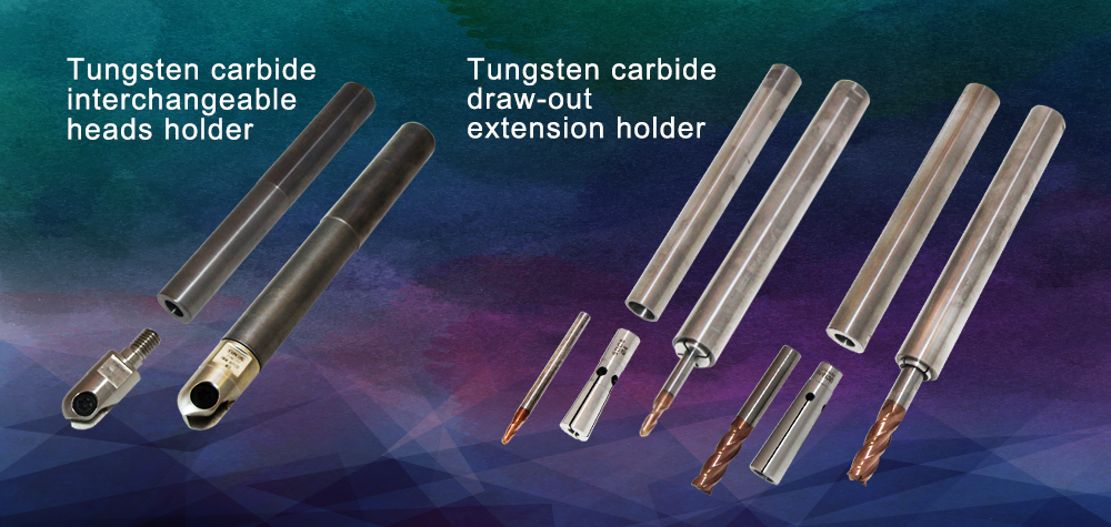 tungsten-carbide-interchangeable-heads-holder-tungsten-carbide-draw-out-extension-holder